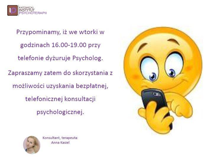 Dyżur Psychologa Ania Kasiel